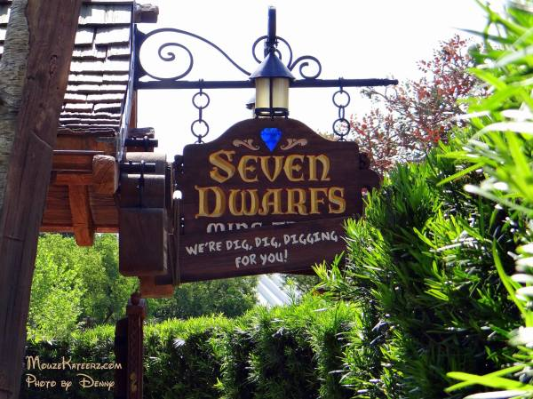 Seven Dwarfs sign